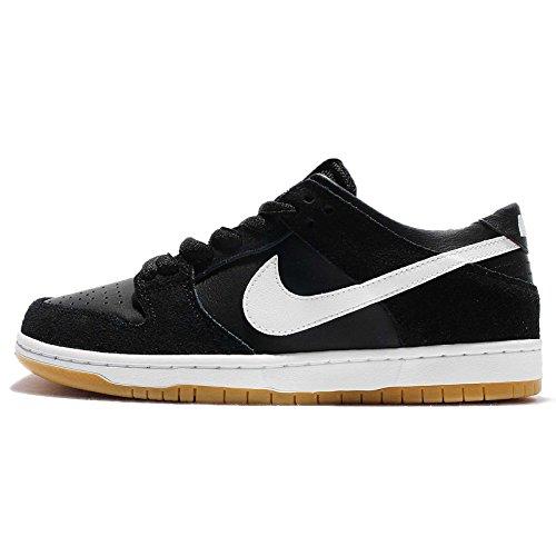 NIKE Men's Sb Zoom Dunk Low Pro Black/White Gum Light Brown Skate Shoe (5)