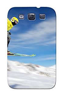 New Cute Funny Skiing Case Cover/ Galaxy S3 Case Cover