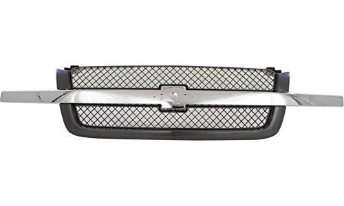 2005 chevy silverado 1500 grille - 3