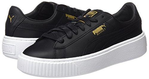 Basket Nero Puma Donna black Platform Core gold Sneaker FdffHqRC