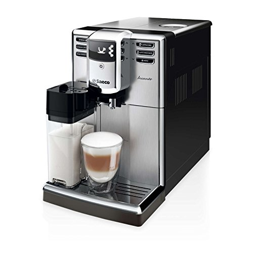 Saeco HD8917/47 Incanto Carafe Super Automatic Espresso Machine, Stainless Steel