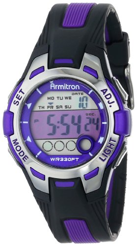 armitron-sport-womens-45-7030pur-purple-accented-black-resin-strap-digital-chronograph-watch