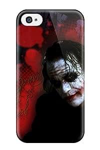 Best High Grade Flexible Tpu Case For Iphone 4/4s - The Joker