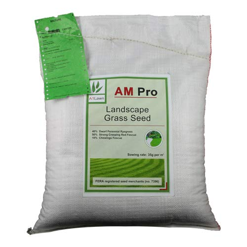 10kg Top Quality Grass Seed / Lawn Seed - (A1LAWN AM Pro Landscape) -...