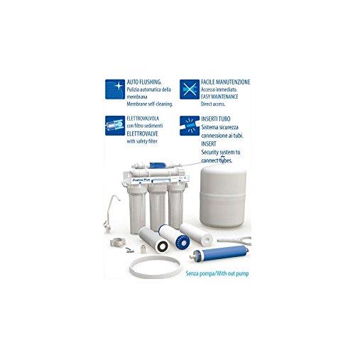 Sistema de ósmosis inversa Proline Plus Completo de Accumulo, sistema UV y grifo (sin bomba)