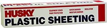 Husky Plastic Sheeting Clear 6ml 6ft x 100ft ORGILL POLY 100061240