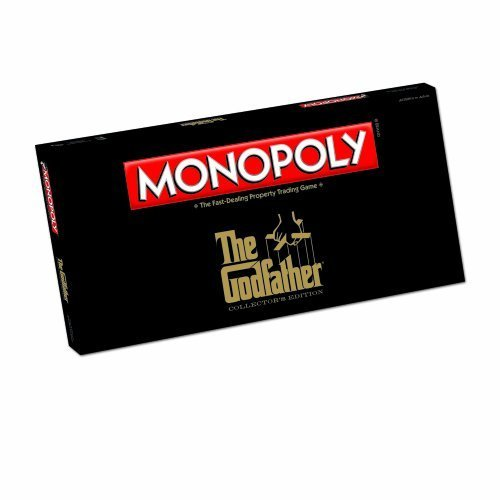 Monopoly The Godfather Edition Board Game by USAopoly