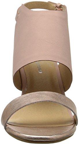 Cl Av Kinesiske Vaskeri Kvinners Baja Kile Sandal Rose Gull Metallisk