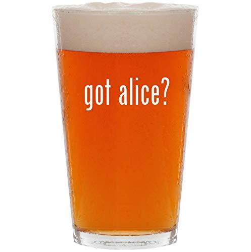 (got alice? - 16oz All Purpose Pint Beer)