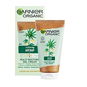 Garnier Organic Hemp Multi-Restore Gel Cream 50 ml...