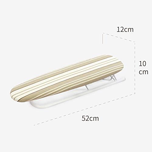 Lihao-tyb Iron Sleeves Khaki Stripes Home Folding Table Ironing Sleeves Iron Sleeves