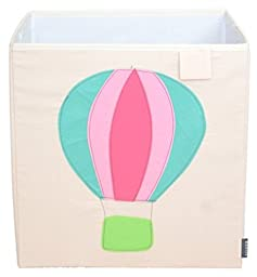 Toy Storage Box Bin Organizer Collapsible, Air Ballon- 100%
