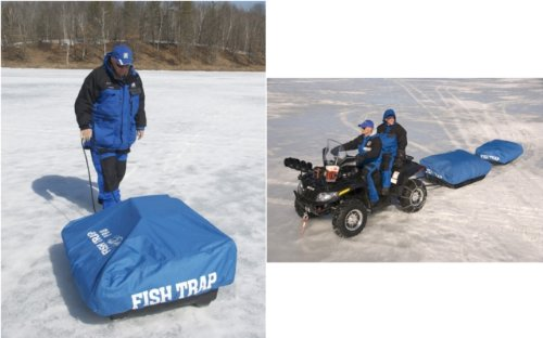 Clam® Fish Trap® Guide / Nanook / Kenai Travel Cover