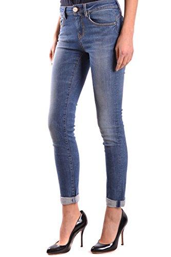 Bleu Femme Pinko Coton Jeans FUJICO25G09 wzxddqTWE