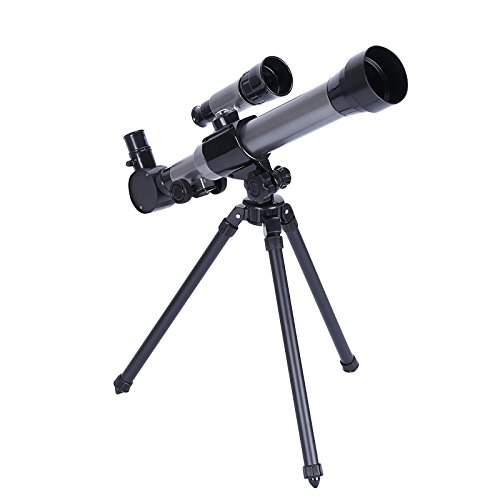 Telescope for children,telescope for beginners,tripod, finder, three magnifying glasses,scientific toys, refraction telescope and tripod