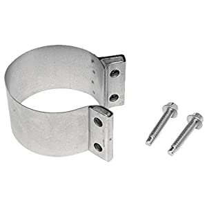 "Walker (36149) 2-3/4"" Aluminized Butt-Joint Exhaust Clamp"