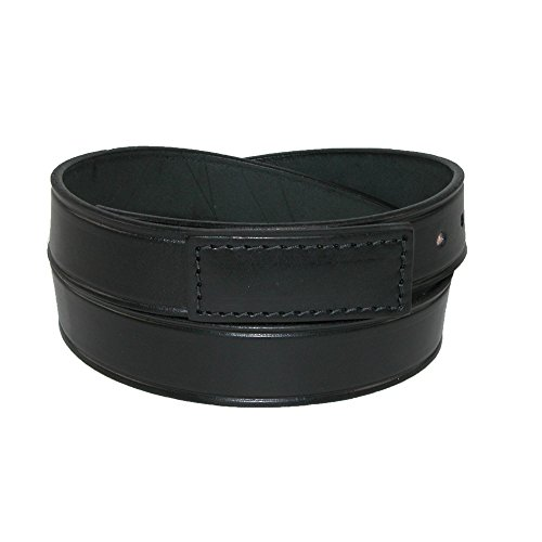 Boston Leather Men's Leather Movers & Mechanics No Scratch Work Belt, Medium (34-38), Black (Scratch Proof Belt)
