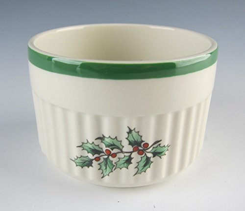 Trim Ramekin (Spode China CHRISTMAS TREE-GREEN TRIM Ramekin(s) EXCELLENT)
