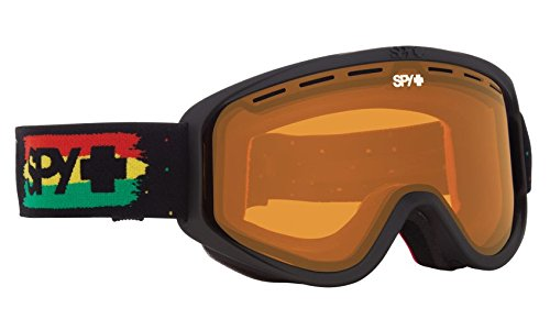 SPY Optic Woot Snow Goggles | Small Medium Sized Ski, Snowboard or Snowmobile Goggle | Clean Design and All Day Comfort | Scoop Vent Tech | - General Spy Optic