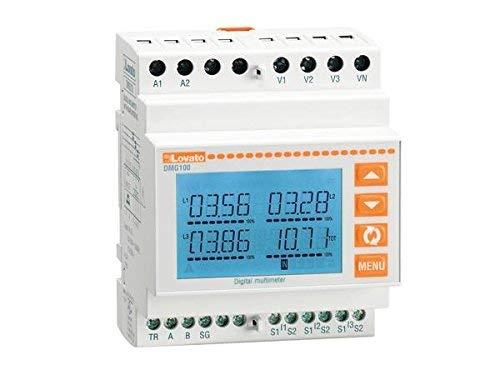 MULTIMETRO LCD MODULARE 4U LOVATO DMG100
