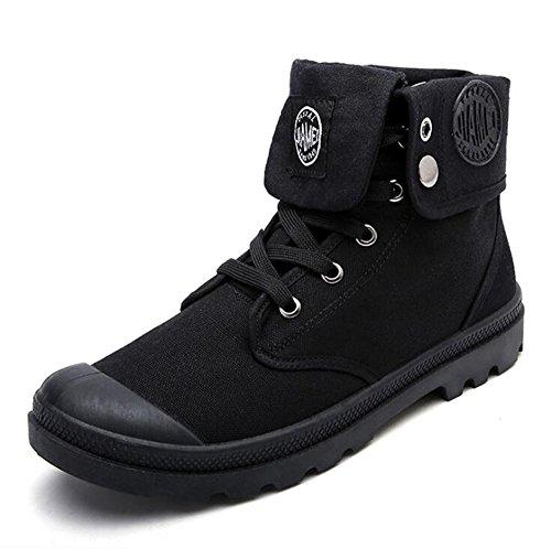 Scarpe Boots Street Hip Sport Suola Scarpe per Hellomiko Adolescenti Tempo Style Hop di di Scarpe Tela Libero Morbido Gomma Nero Comodo Indossabile Camminare q41aaTfw