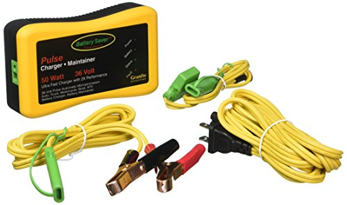 Battery Saver 2365-36 36V 50W Quick Charger and Auto Pulse Maintainer (Charger Battery 36v)