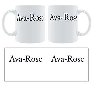 AVA-Rose - Classic Serif fuente personalizable hembra nombre ...