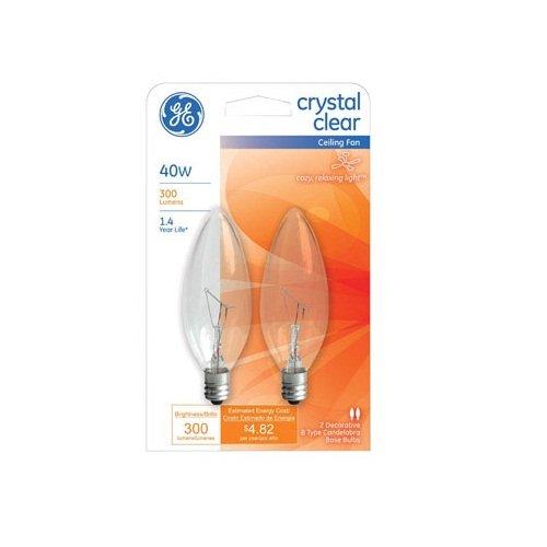 GE2PK 40W Ceil Fan Bulb