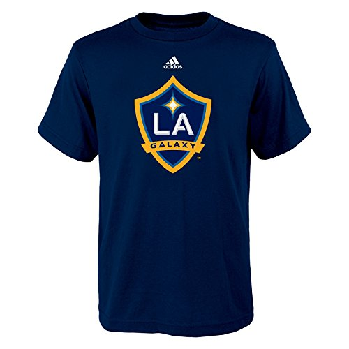 MLS Los Angeles Galaxy Boys 8-20 Primary Logo Short Sleeve Tee, Navy, ()