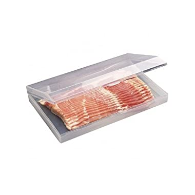 Proctor Silex Plastic Bacon Keeper / Kitchen Meat Saver Storage Container 02716