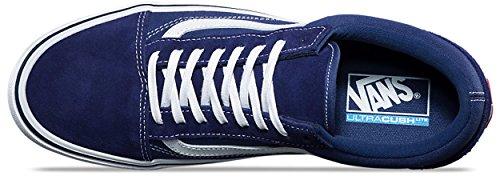 Vans Unisex Old Skool Lite (Canvas) Skateschuh Blaue Tiefen