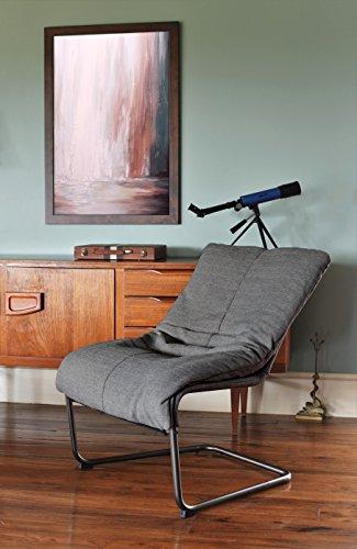 Amazon Com Serta Style Alex Lounge Chair Medium Gray
