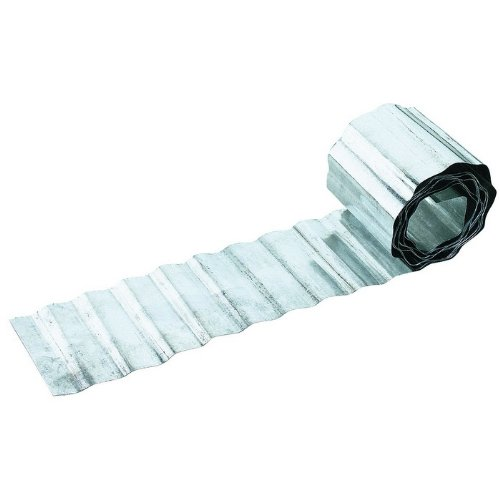 Rasenkante aus verzinktem Stahl - 5 Meter Rolle