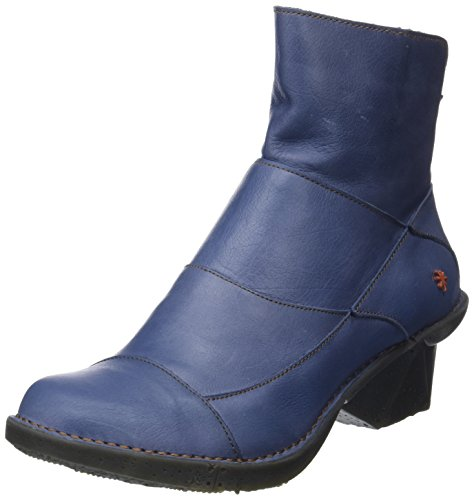 Memphis Artic Bottines artic Art Femme Bleu RTAqTOw