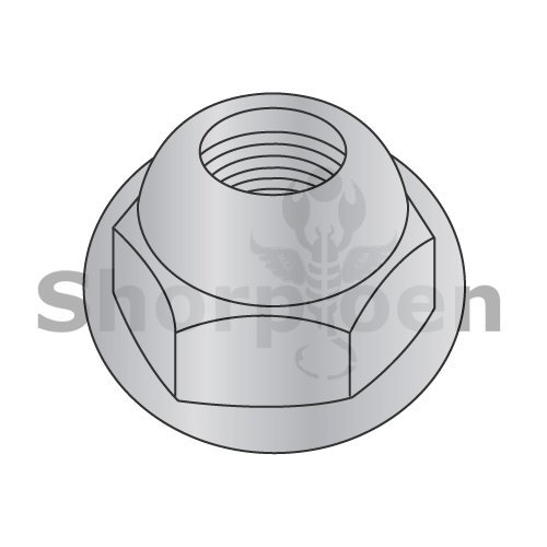 Opened End Cap Nut Washer Based Die Cast Zinc Alloy 1/4-20 BC-14NCWOA (Box of 1000) weight 8.14 Lbs from Shorpioen