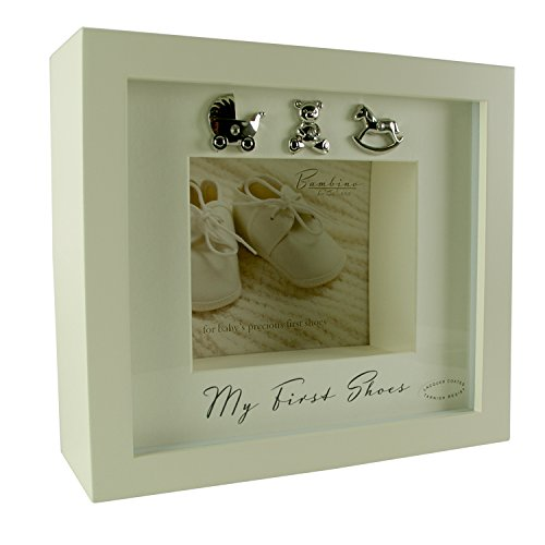 My First Shoes Keepsake Display Box Baby Gift