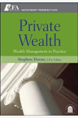 Private Wealth: Wealth Management In Practice (CFA Institute Investment Perspectives Book 1) (English Edition) eBook Kindle