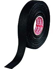 Tesa 51608 isolatietape van katoen, zwart, 25 mm x 25 m