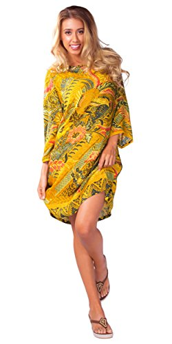 1 World Sarongs Women Swimsuit Traditional Tunic Cover-Up