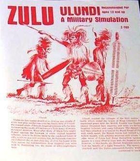 Bearhug Publications Zulu, Ulundi Boargame from Bearhug Publications