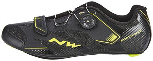 Northwave Sonic 2 Plus - Zapatillas - negro 2017 black/yellow fluo