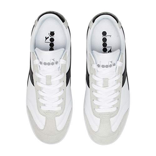 Donna Diadora P Sneakers Per C0351 Kick E White black Uomo gqvgP