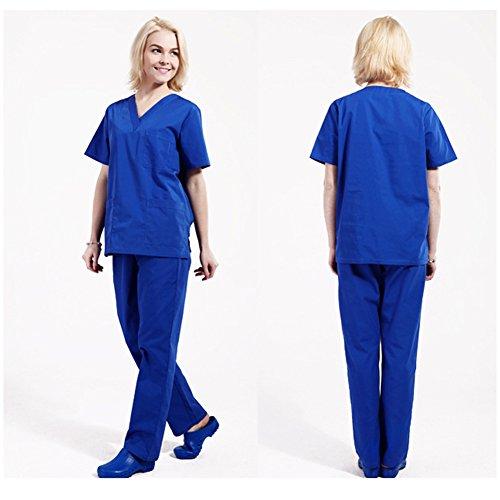 Free Fisher Camisa y Pantalón uniforme médico Unisex Mujeres Ropa para Enfermería: Amazon.es: Ropa y accesorios
