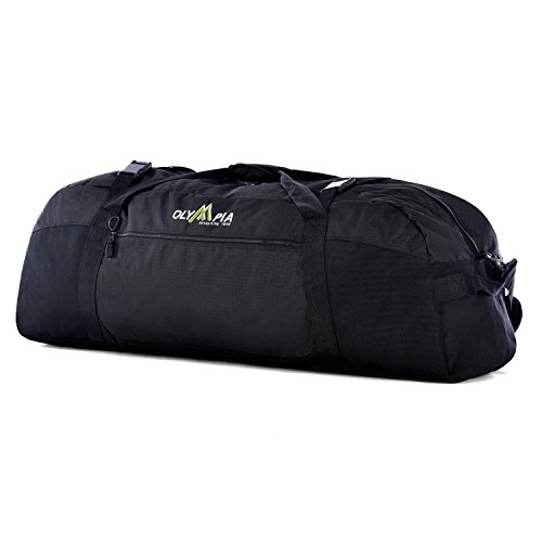 Olympia Luggage  36 Inch Sports Duffel,Black,One Size