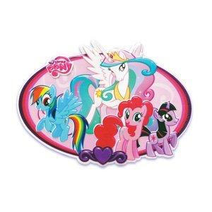Amazon.com: My Little Pony Cake Topper Plaque: Kitchen