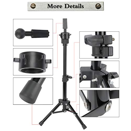 Mini Wig Tripod Foldable Stand Dansee Adjustable Mannequin Head Metal Tripod Canvas Block Head Stand - http://coolthings.us