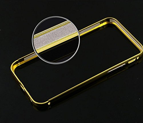 Etui coque housse aluminium bumper miroir pour iPhone 5 / 5S Chrome Noir + film d ecran vendu sous blister Sous emballage d'origine