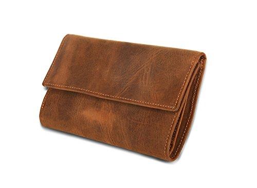 JOYIR - Bolso bandolera  Hombre Mujer Brown Color 9D*10L*2H Brown Color