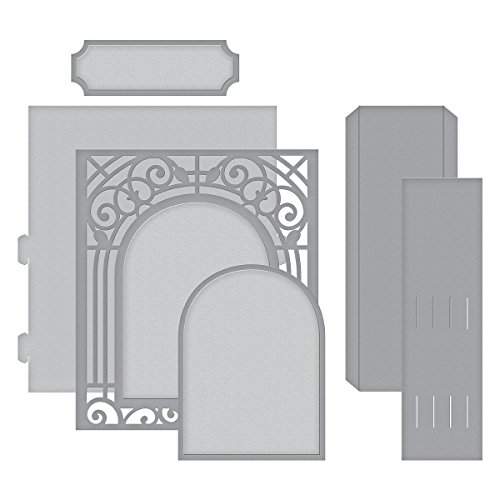 Spellbinders Shapeabilities Grand Arch 3D Card Etched/Wafer Thin Die (Shapeabilities Collection)