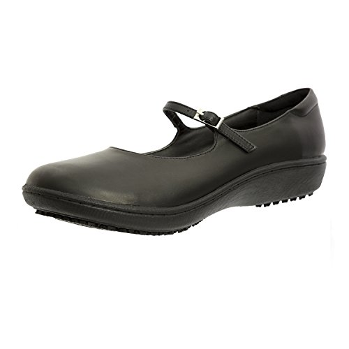 - Shoes For Crews Women's Mary Jane Leather Shoes 3603